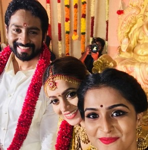 Actress Bhavana And Naveen Wedding