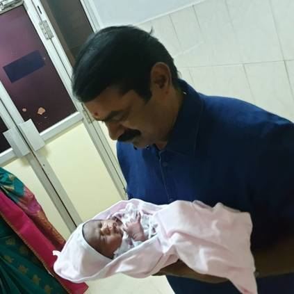 Actor turned politician Seeman blessed with a baby boy