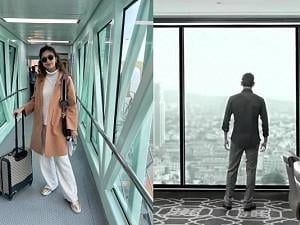 Keerthy Suresh spotted at the airport; Guess which film's set is she off to?
