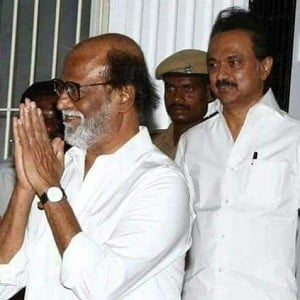 Just In: MK Stalin's speech after Rajinikanth-Karunanidhi meeting