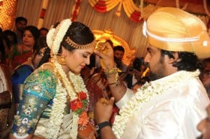 Actress Meghana Raj Wedding